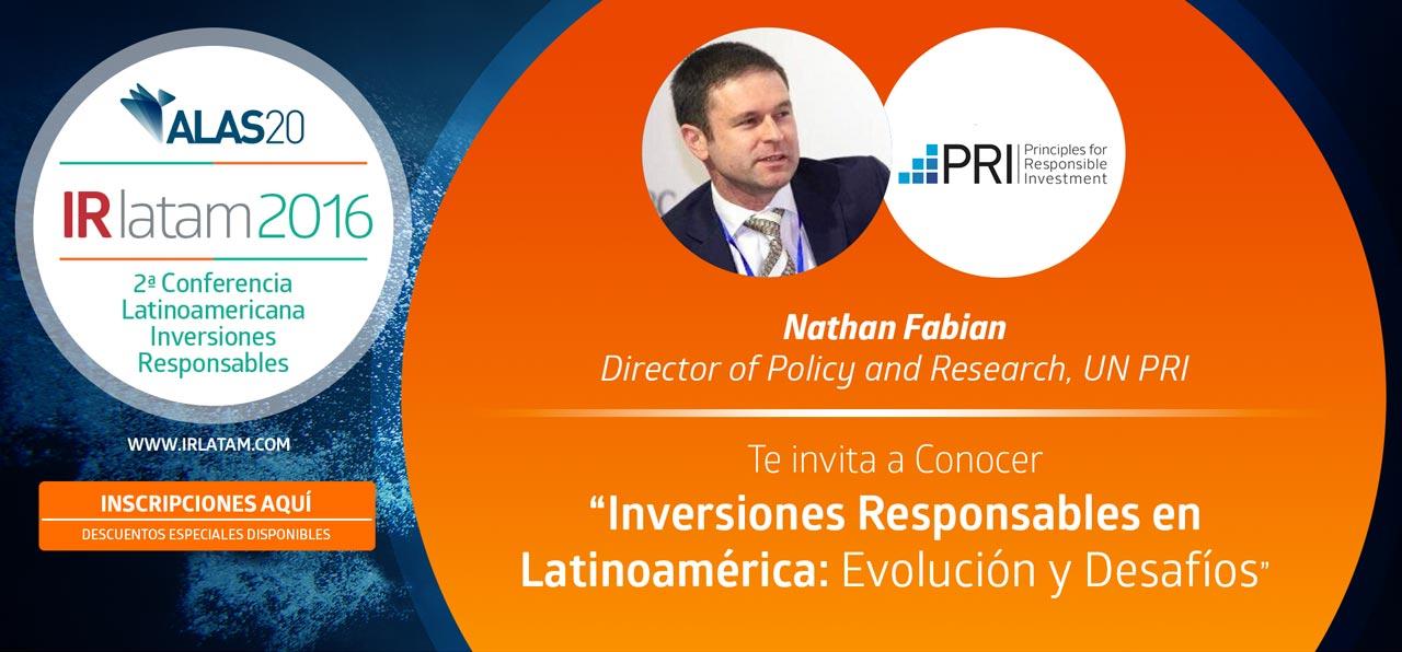 """Te invita a Conocer """"Inversiones Responsables en Latinoamérica: Evolución y Desafíos"""""""