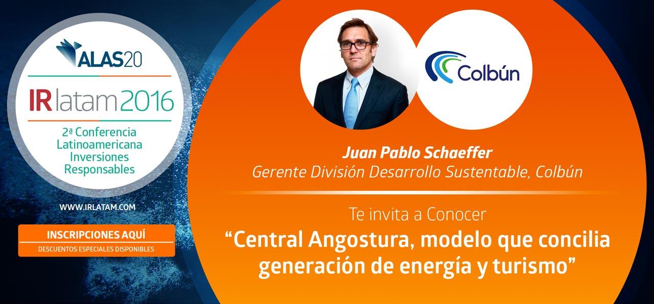 Caso Colbún: Central Angostura, modelo que concilia generación de energía y turismo